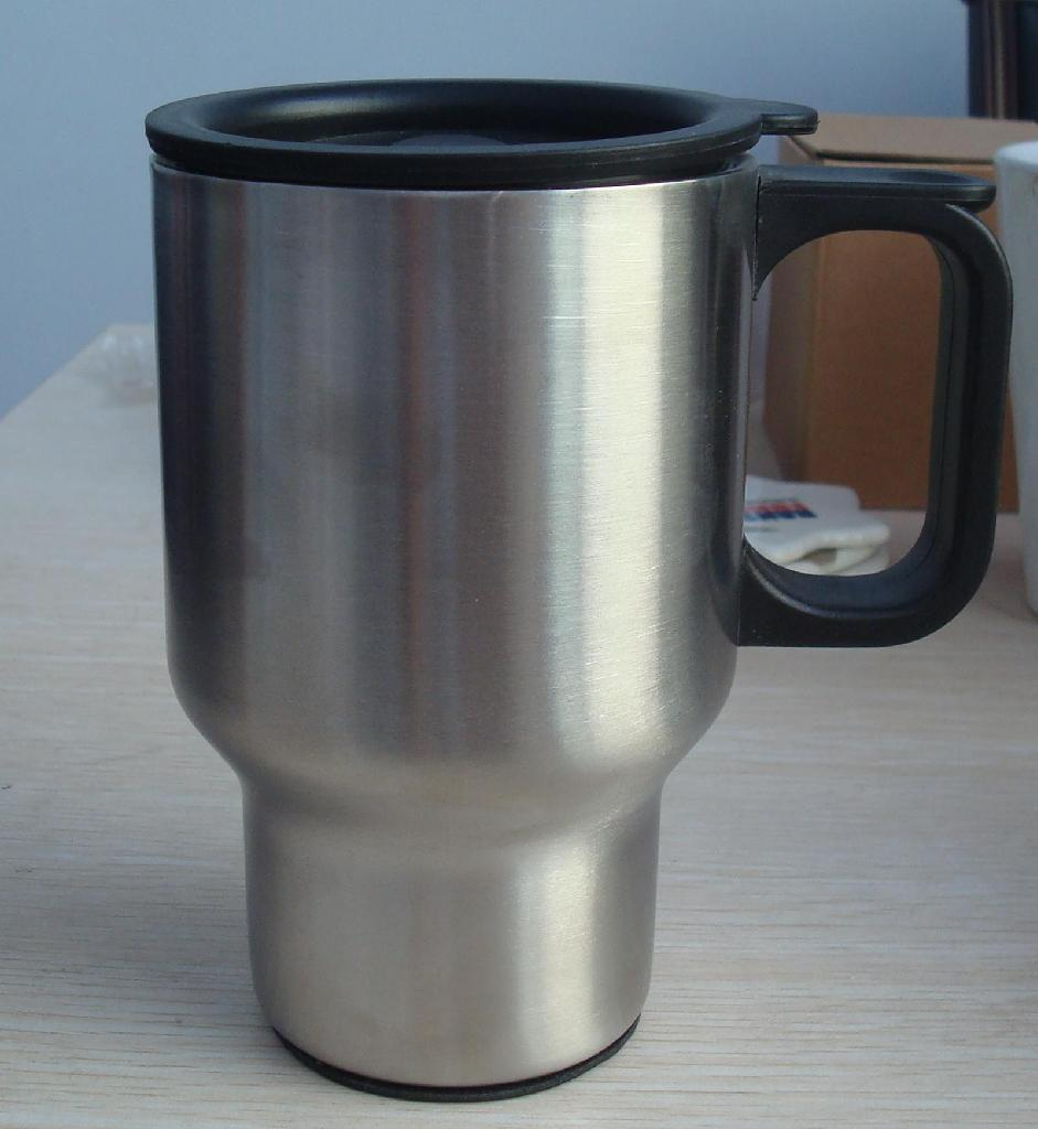 Image of: Stainless Steel Travel Mug Handle