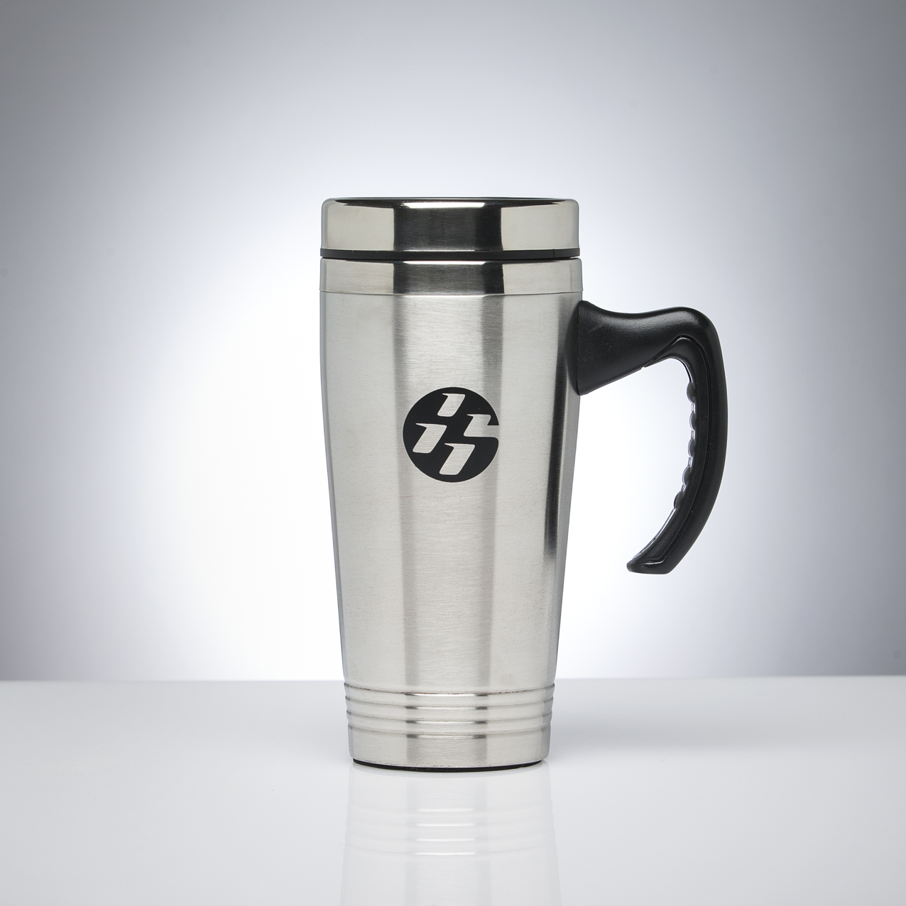Image of: Stainless Steel Travel Mug with Handle