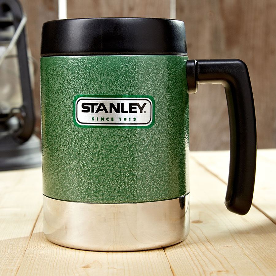 Image of: Stanley Travel Mug Green