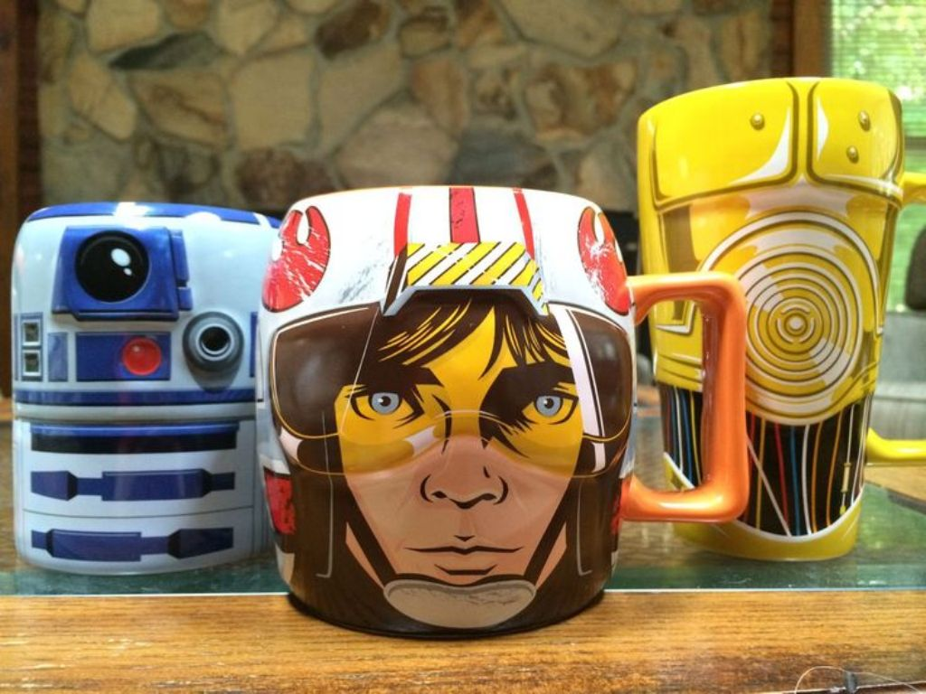 Image of: Star Wars Mugs Big Bang Theory
