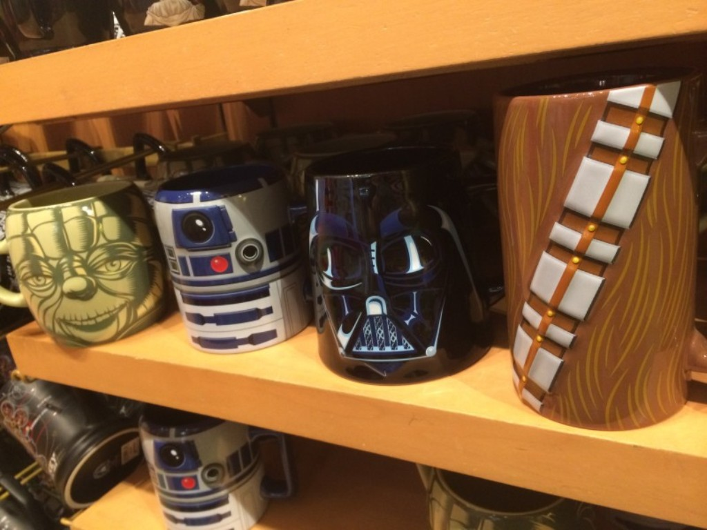 Image of: Star Wars Mugs Set