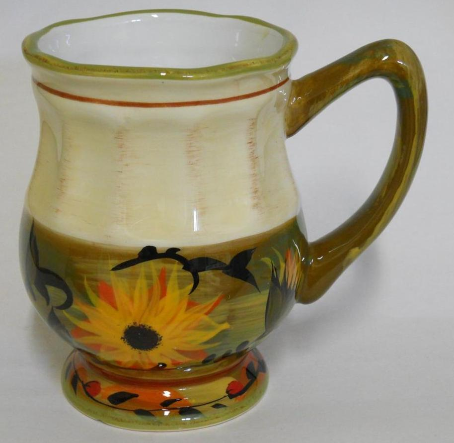 Image of: Sunflower Coffee Mug Plan