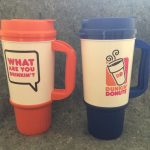 Tall Dunkin Donuts Travel Mug