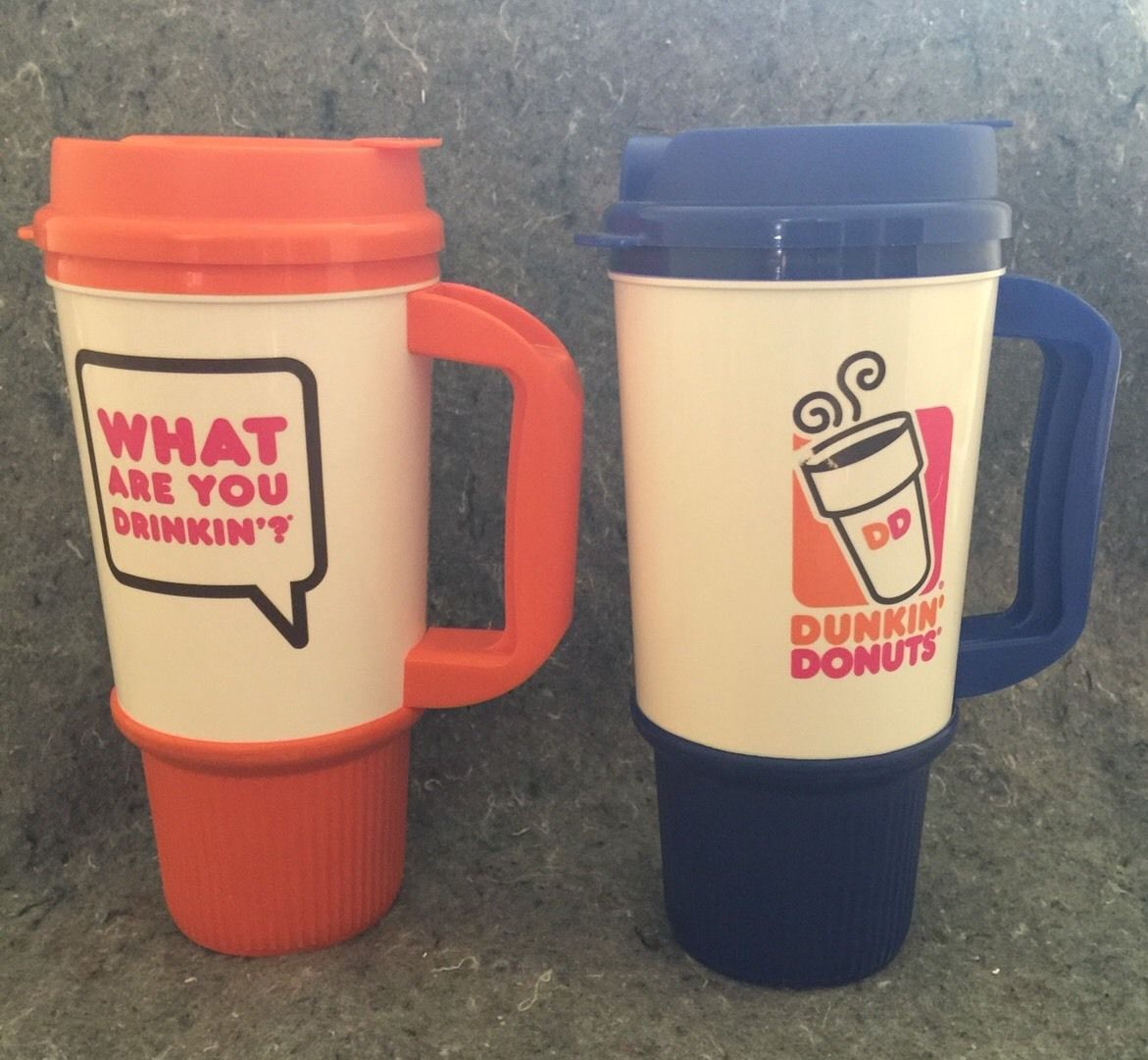 Image of: Tall Dunkin Donuts Travel Mug
