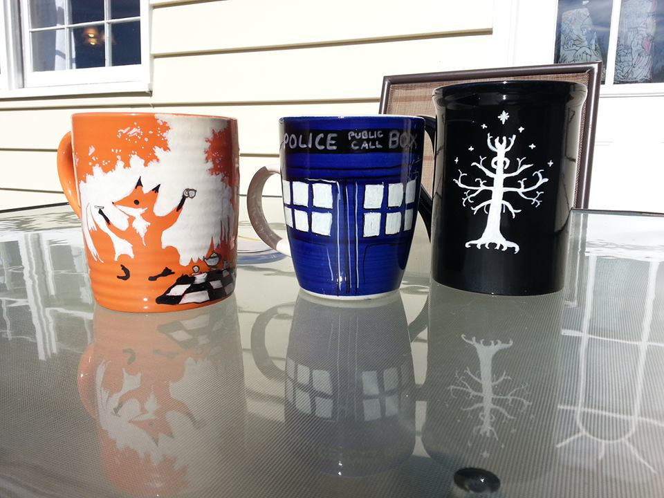 Image of: Tardis Mug Ideas