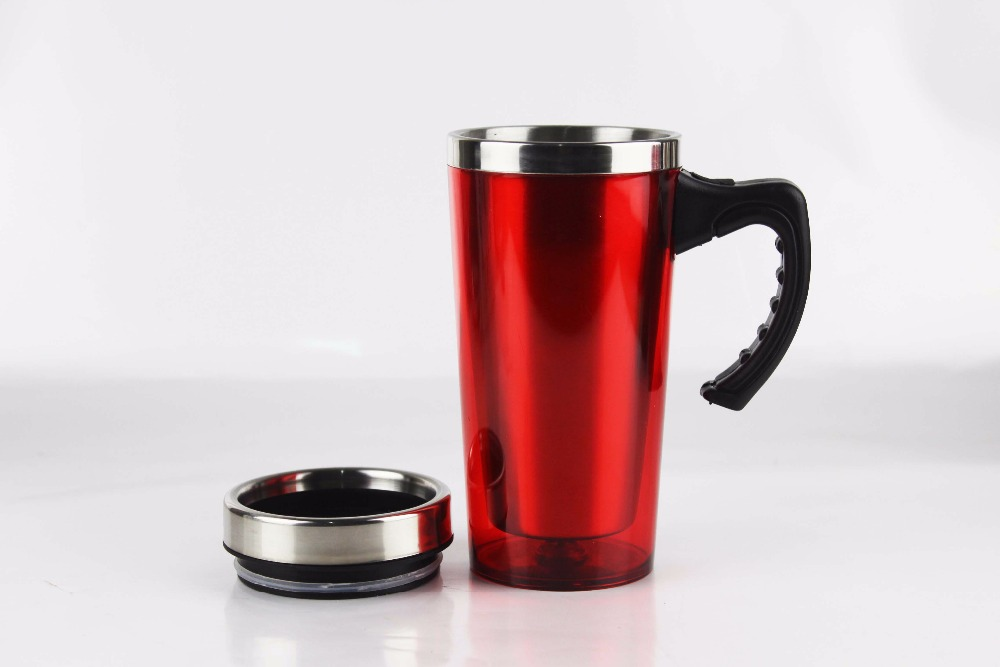 Image of: Thermal Coffee Mugs Red