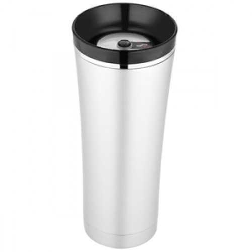 Image of: Thermos Travel Mug Silver