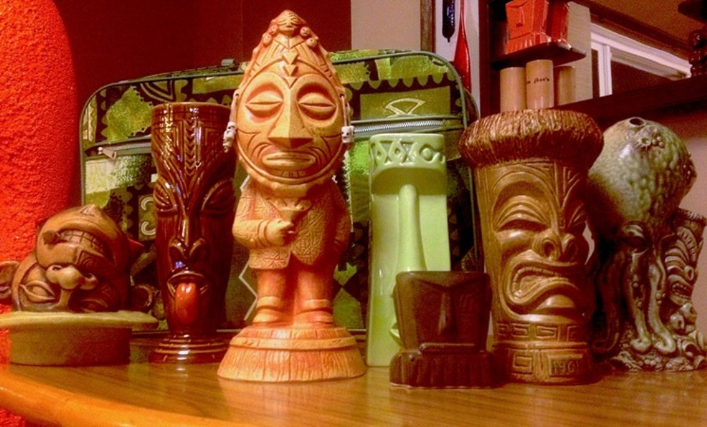 Image of: Tiki Mugs Blown