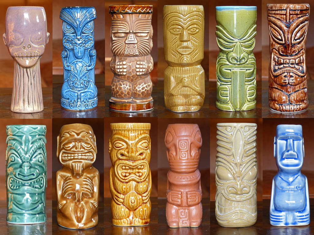 Image of: Tiki Mugs Bulk