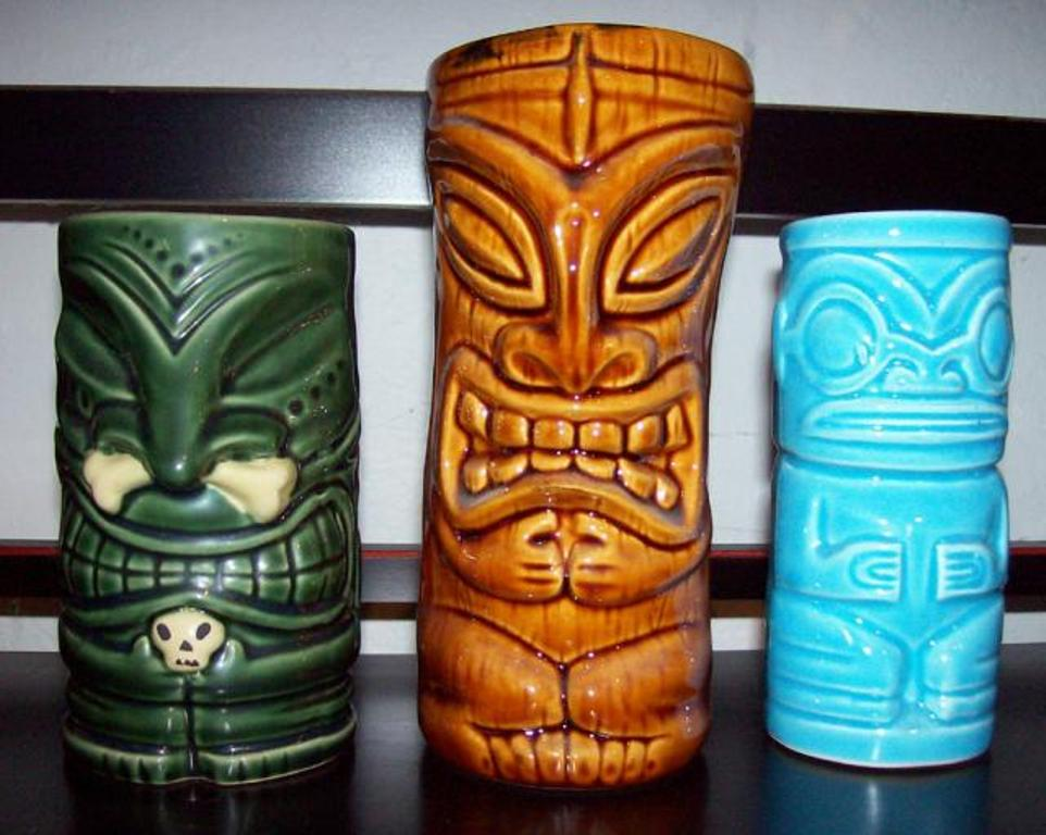 Image of: Tiki Mugs EBay