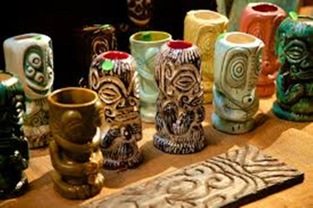 Image of: Tiki Mugs Vintage