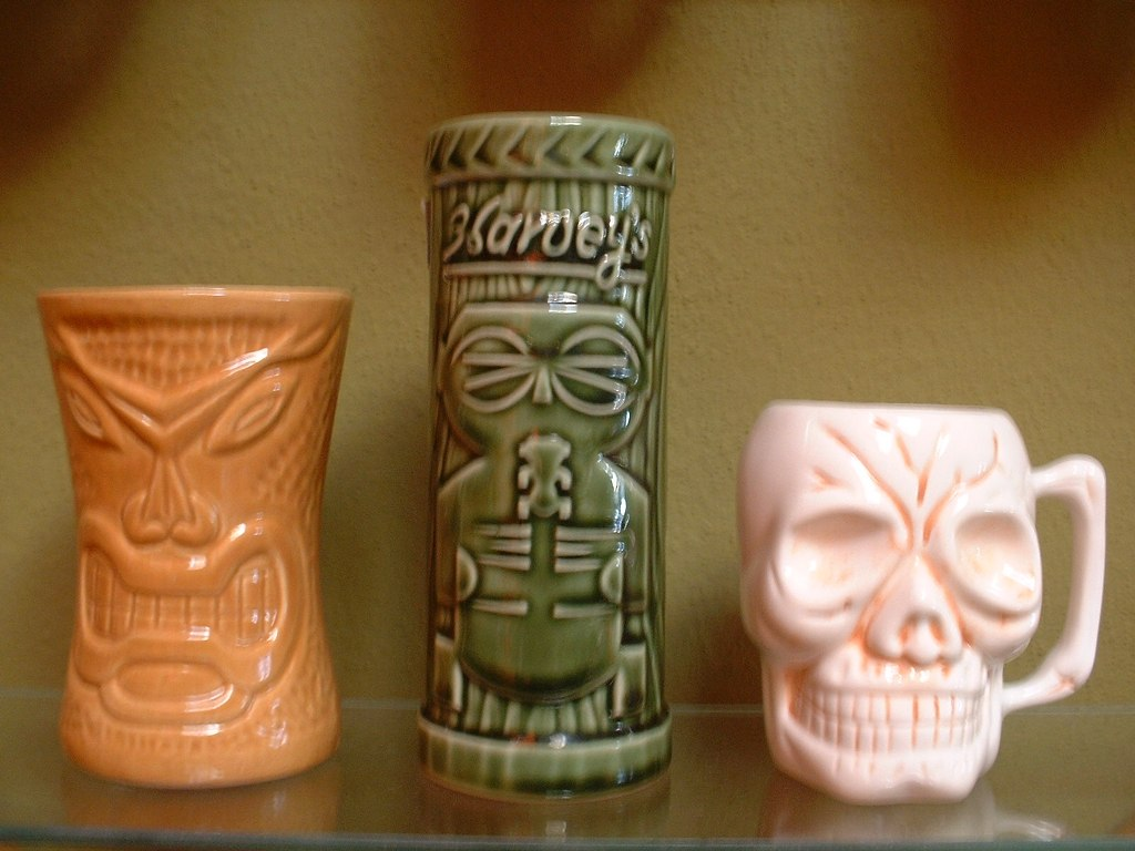 Image of: Tiki Mugs for Sale