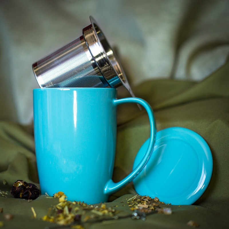Top Tea Mug with Infuser