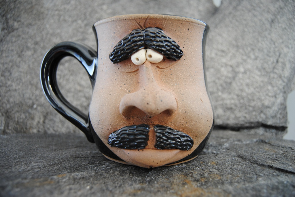 Image of: Unique Stoneware Coffee Mugs