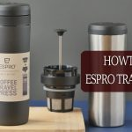 Using French Press Travel Mug