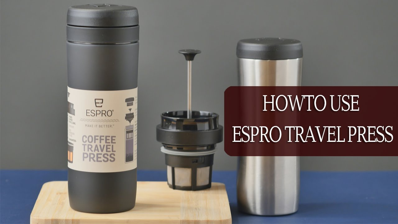 Image of: Using French Press Travel Mug