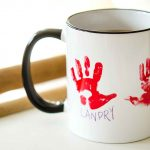 Walgreens Custom Mugs Hand Print