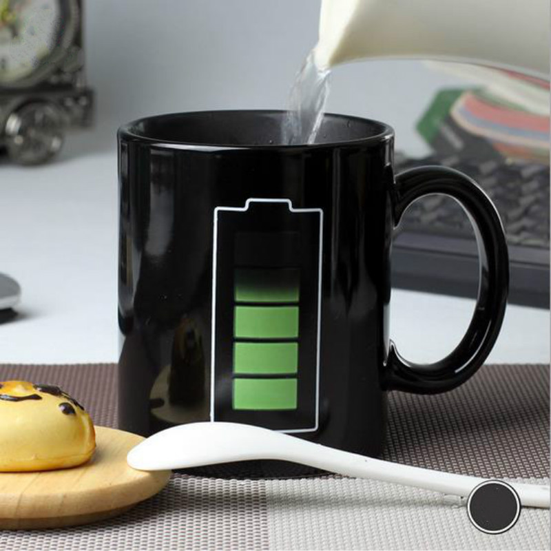 Image of: Warm Battery Coffee Mug