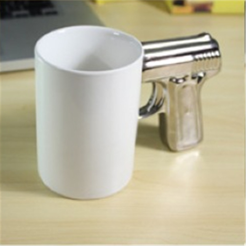 Image of: White Gun Mug