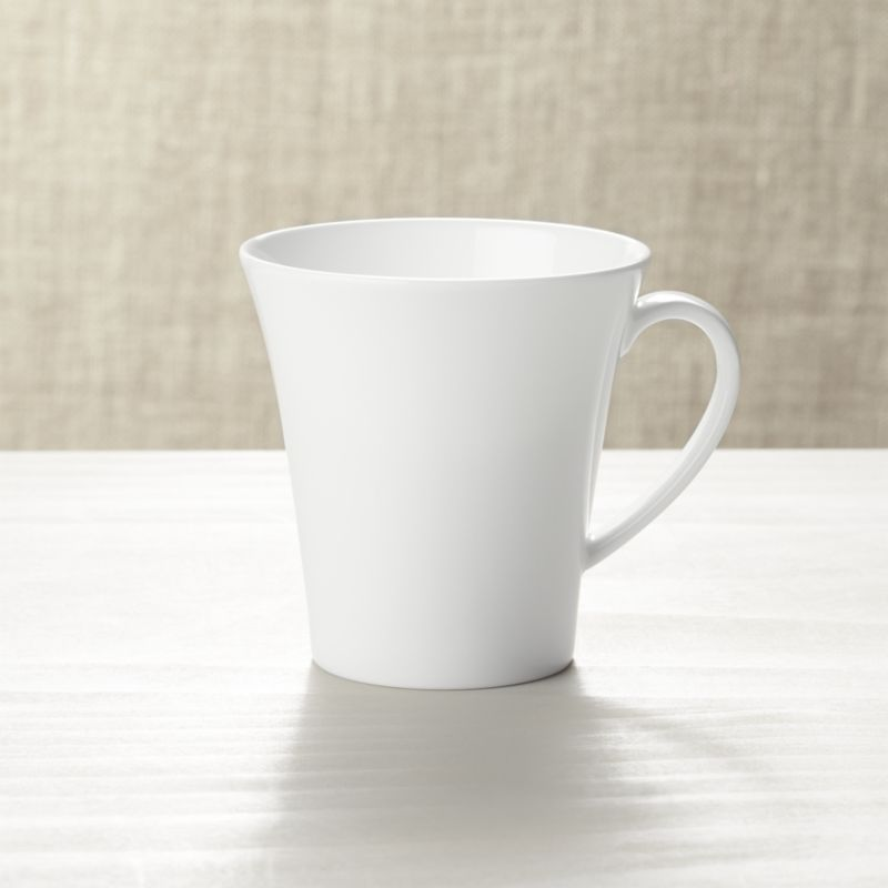 White Oversized Coffee Mugs