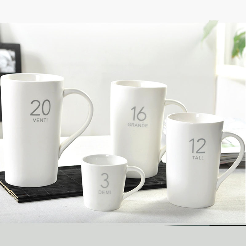 Wholesale Mugs Size