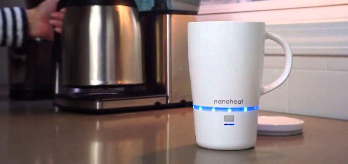 Wireless Heated Coffee Mug