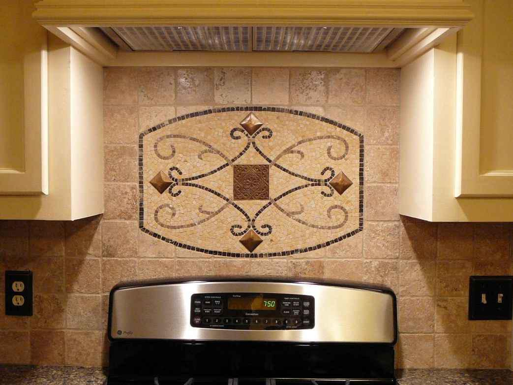 Image of: backsplash for stove