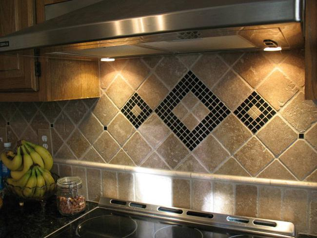 Image of: Backsplash Mosaic Tile Designs Ideas