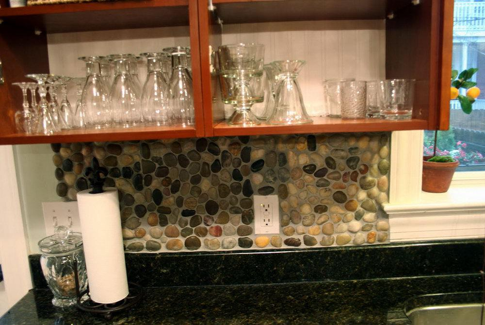 Image of: backsplash natural stone