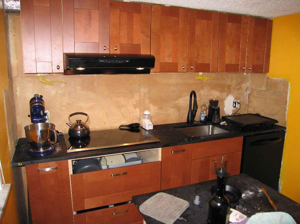 Image of: backsplash panels for kitchen