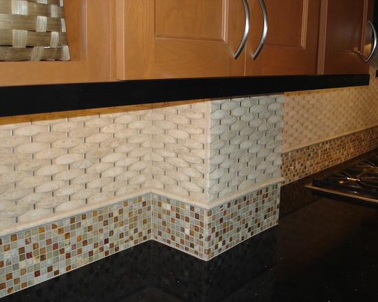 Image of: Backsplash Stone Tile Designs Ideas