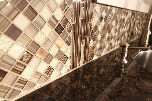 Image of: backsplash tile peel and stick