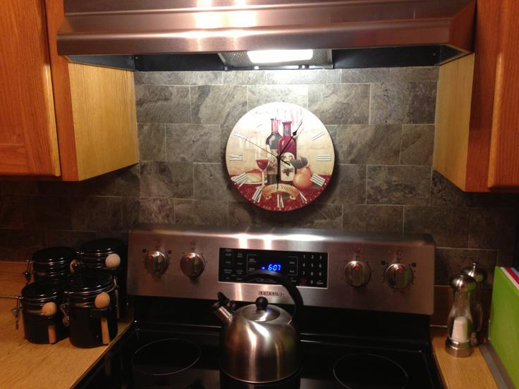 Image of: backsplash vinyl tile