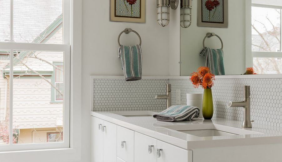 Image of: bathroom backsplash tile