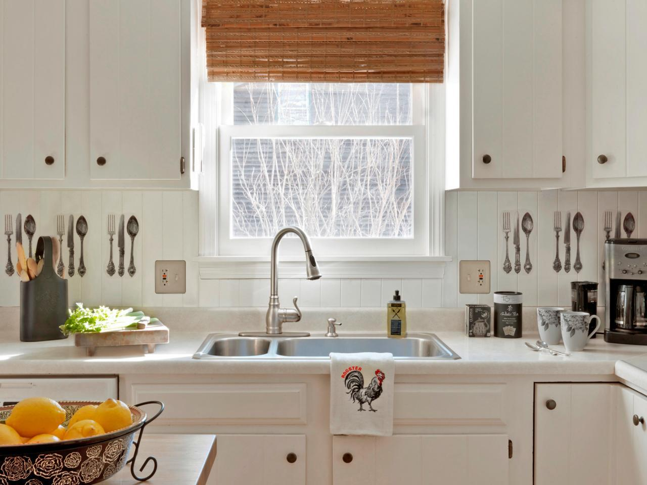 Image of: beadboard backsplash kitchen