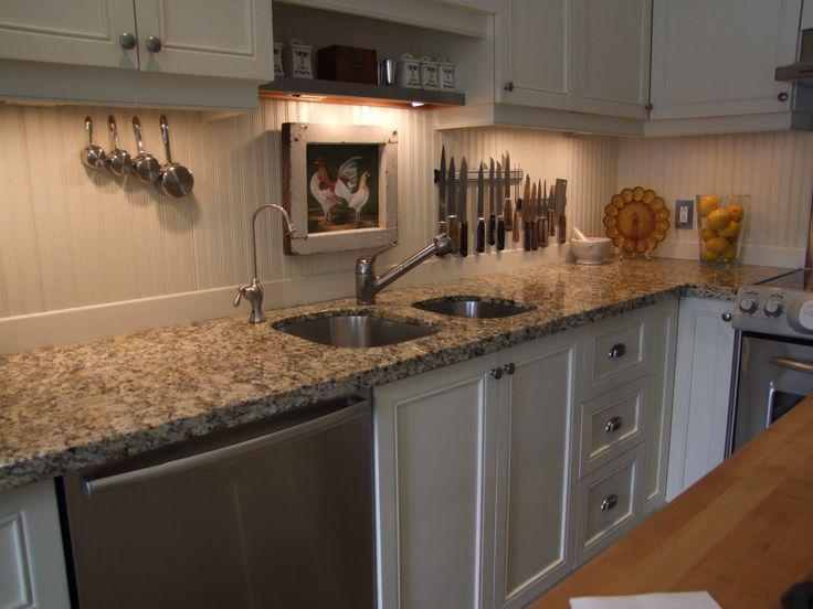 Image of: ceramic beadboard backsplash
