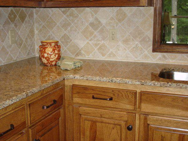 Image of: ceramic tile backsplash ideas