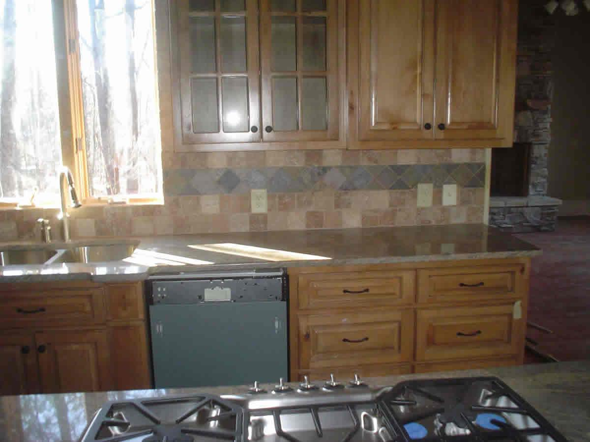 Image of: ceramic tile backsplash