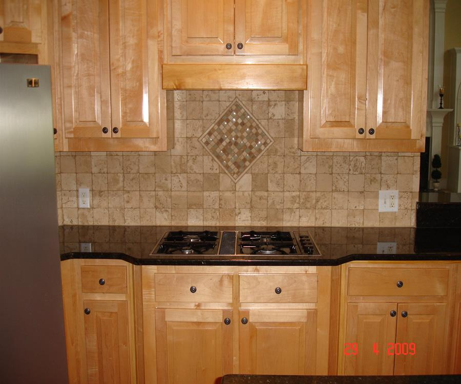 Image of: ceramic tile kitchen backsplash