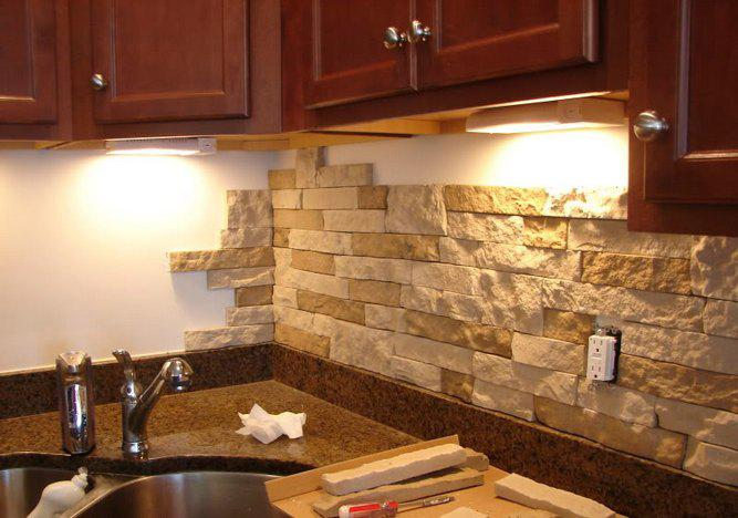 Image of: diy kitchen backsplash tile