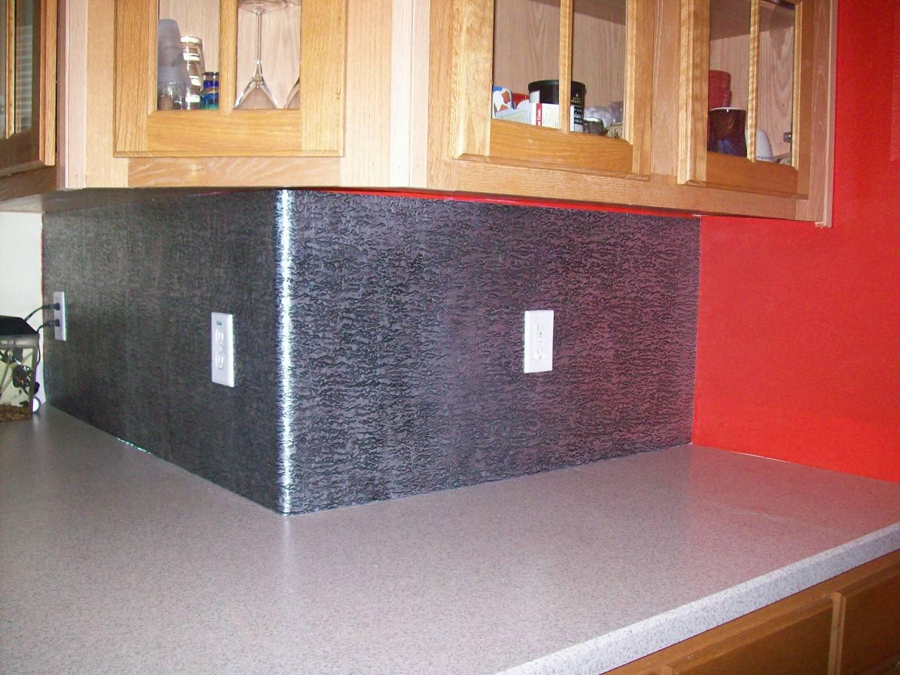 Image of: easy diy backsplash