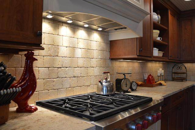 Image of: farmhouse kitchen backsplash