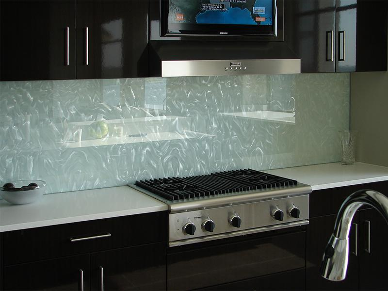 Image of: glass backsplash tile ideas
