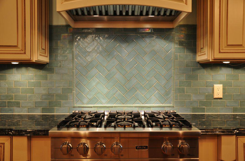 Image of: glass backsplash tiles peel and stick