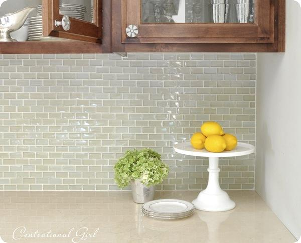 Image of: Grey Glass Subway Tile Backsplash Designs Ideas
