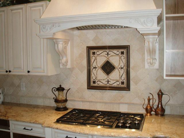 Image of: kitchen backsplash accent tile