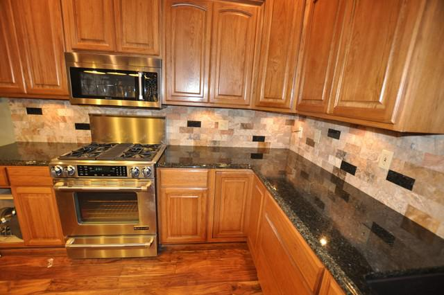 Image of: kitchen backsplash and countertops