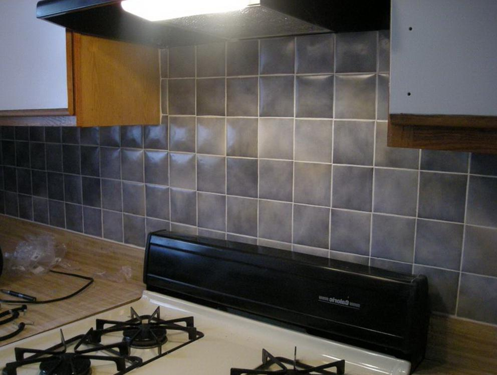 Image of: kitchen backsplash ceramic tile