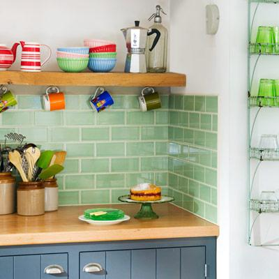 Image of: kitchen backsplash subway tile