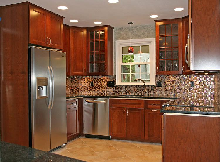 Image of: kitchen tile backsplash design ideas